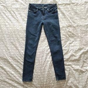 AllSaints Mast Dark Indigo Skinny Jeans